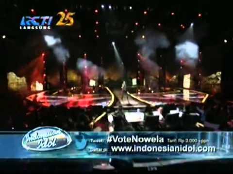 Nowela indonesian idol 2014  - Wrecking ball