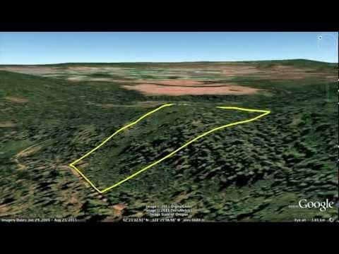 34 Acres Oregon Mountain Land For Sale, Near Klamath Falls