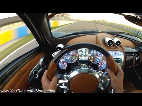 YOU Drive the Pagani Huayra Fast!