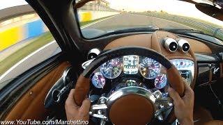 YOU Drive the Pagani Huayra Fast!