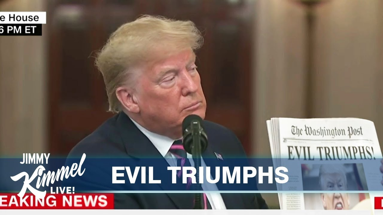 Jimmy Kimmel Compares Trump To O J Simpson After White House Rant Vanity Fair