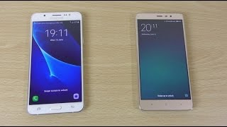 Galaxy J7 2016 vs Redmi Note 3 Pro - Speed & Camera Test!
