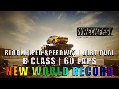 WRECKFEST - Bloomfield Speedway | Dirt Oval | B-Class (60 Lap) [WR]