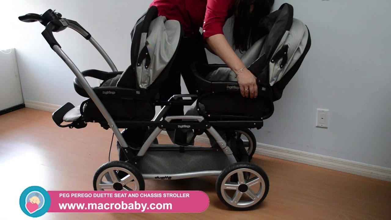 MacroBaby Peg Perego Duette Stroller