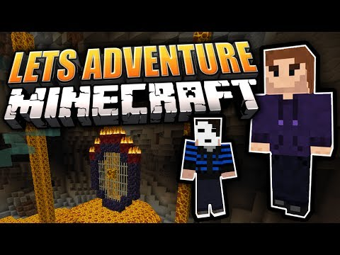 Höllische Wasserrutsche! + GermanLetsPlay [1/?] | Lets Adventure YOUR Minecraft