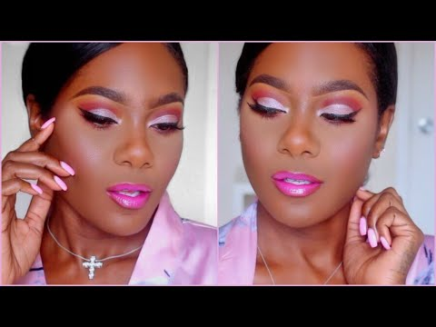 MBW Day 1: Save Your Coins! Full Face Affordable Makeup Tutorial for Melanin Skin | KimAllure thumbnail