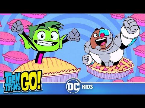 Teen Titans Go! KARAOKE | I Love Pies! | DC Kids