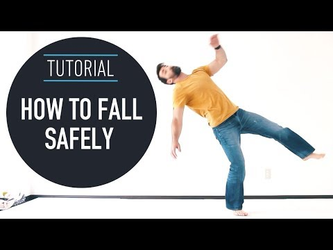 How To Fall Safely - 3 Breakfall Techniques