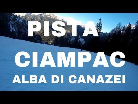 Video Piste da sci difficili, Alba di Canazei: pista nera Ciampac