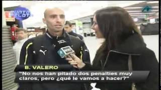 El Villarreal indignado con el arbitraje de Estrada Fernández en el Bernabéu