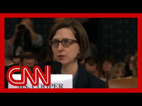 Hear Laura Cooper's opening remarks to Congress
