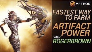 Fastest Way to Farm Artifact Power