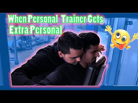 When Personal Trainer Gets Extra Personal !!!