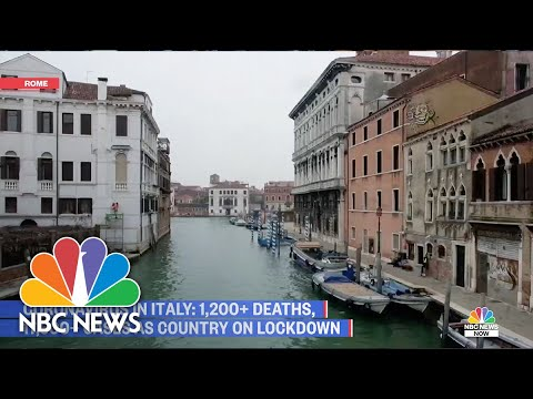 Italy Still On Lockdown After 1,200 People Die From COVID-19   NBC ...