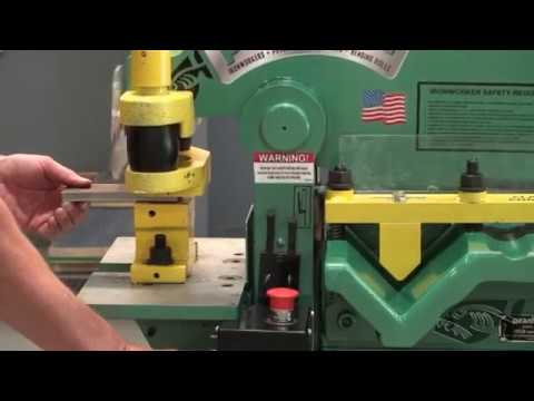 P50 Piranha Ironworker Operational video
