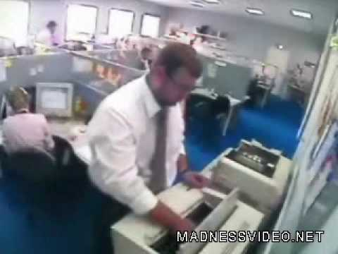 Stress In The Workplace video Funny videos MadnessVideo net