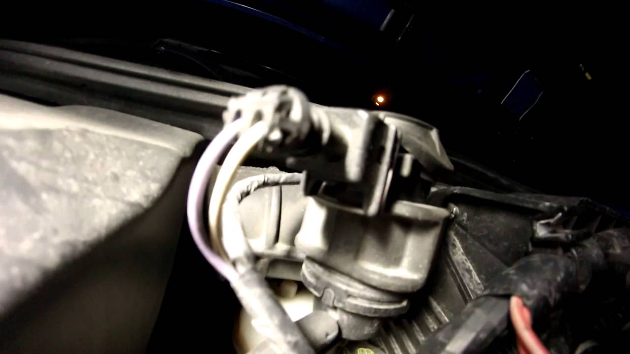 Megane 1 5 dCi - Noise from the turbocharging pressure regulating solenoid  valve