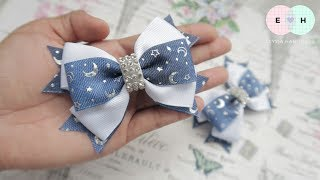 Laço De Fita 🎀 Ribbon Bow Tutorial #42 🎀 DIY by Elysia Handmade