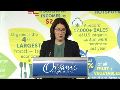 State of the Organic Industry: Laura Batcha, OTA's Executive Director / CEO