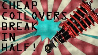 Video WHY YOU DONT BUY CHEAP COILOVERS! download MP3, 3GP, MP4, WEBM, AVI, FLV Agustus 2018