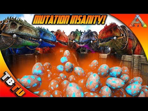 🔥 1,000 GIGA EGGS! EPIC GIGA MUTATIONS! GIGANOTOSAURUS COLOR MUTATIONS! Ark Survival Evolved