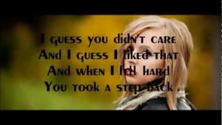 I Knew You Were Trouble - Madilyn Bailey - Lyrics