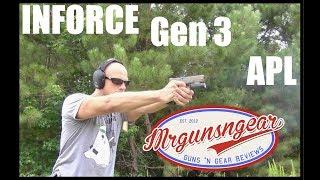 Inforce APL Gen 3 400 Lumen Weapon Light Review (HD)