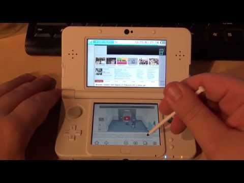[New Nintendo 3DS] Look at Internet Browser