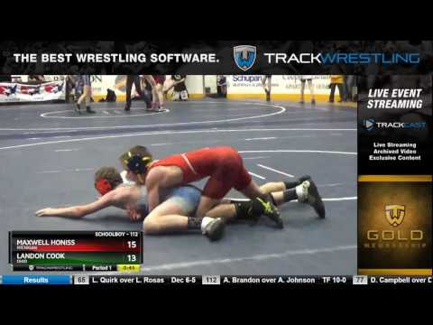 125 Schoolboy 112 Maxwell Honiss Michigan vs Landon Cook Ohio 6332211104