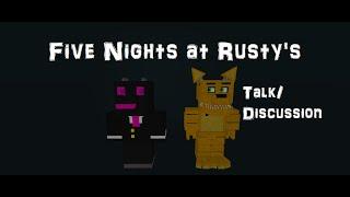 ROBLOX Cinq nuits à Rusty's RP Talk/Discussion