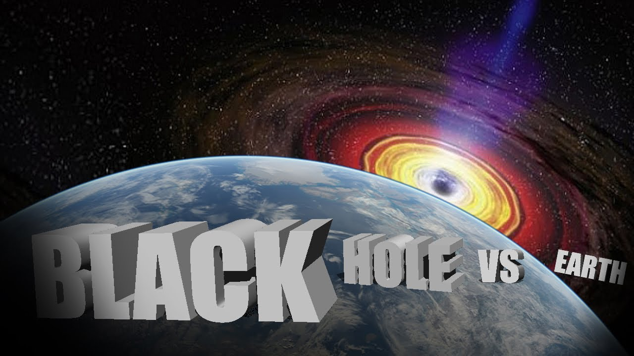 SUPER BLACKHOLE SUCKS UP EARTH!!! (Powder Toy) - YouTube