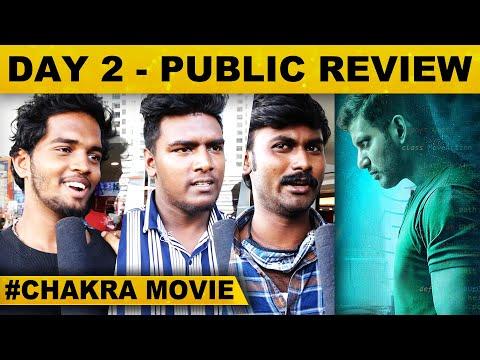 Day 2 : Chakra Movie Public Opinion   Tamil   Vishal     M.S.Anandan   Yuvan Shankar Raja   VFF   HD