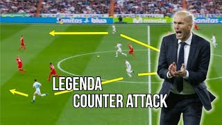 Real Madrid Zinedine Zidane - Legenda Counter Attack 2018