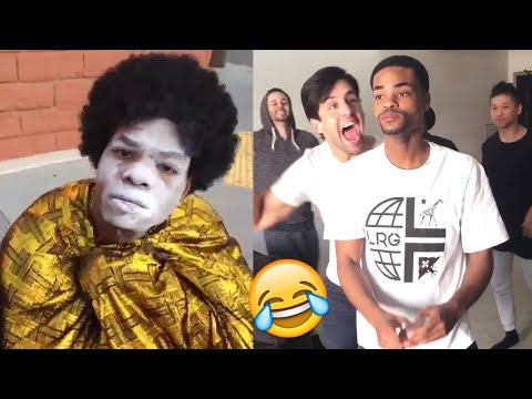 TRY NOT TO LAUGH - FUNNY KingBach Vines and Instagram Videos Compilation (Impossible!)