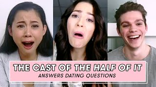 The Cast of Netflix's The Half Of It Gives Fans Dating Advice | Dating Questions