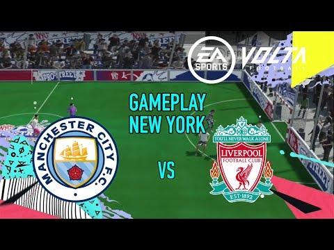FIFA 20 GAMEPLAY VOLTA - LIVERPOOL VS MANCHESTER CITY