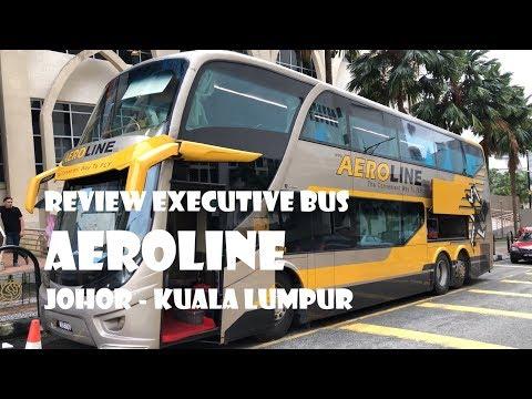 AEROLINE | EXECUTIVE BUS | JOHOR BAHRU TO KUALA LUMPUR