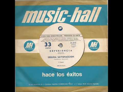 Experiencia - Segura satisfacción (Soul, Funk, Rare Earth cover)