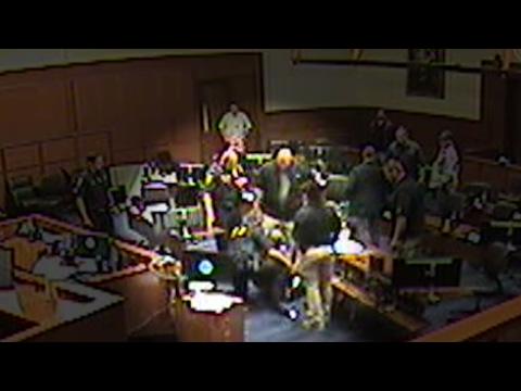 Court footage shows Deputy U.S. Marshals tackling Ammon Bundy's lawyer