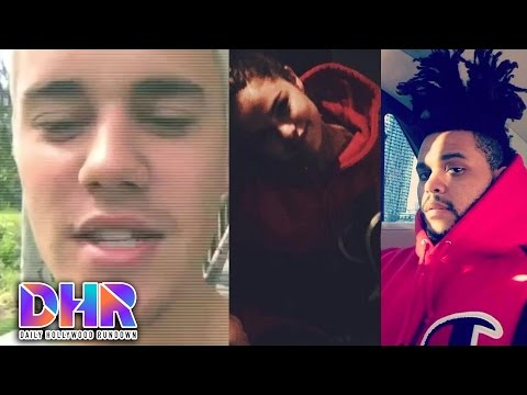 Justin Bieber Hilariously Swears at Paps - The Weeknd Calls Out Selena Gomez on Instagram (DHR)