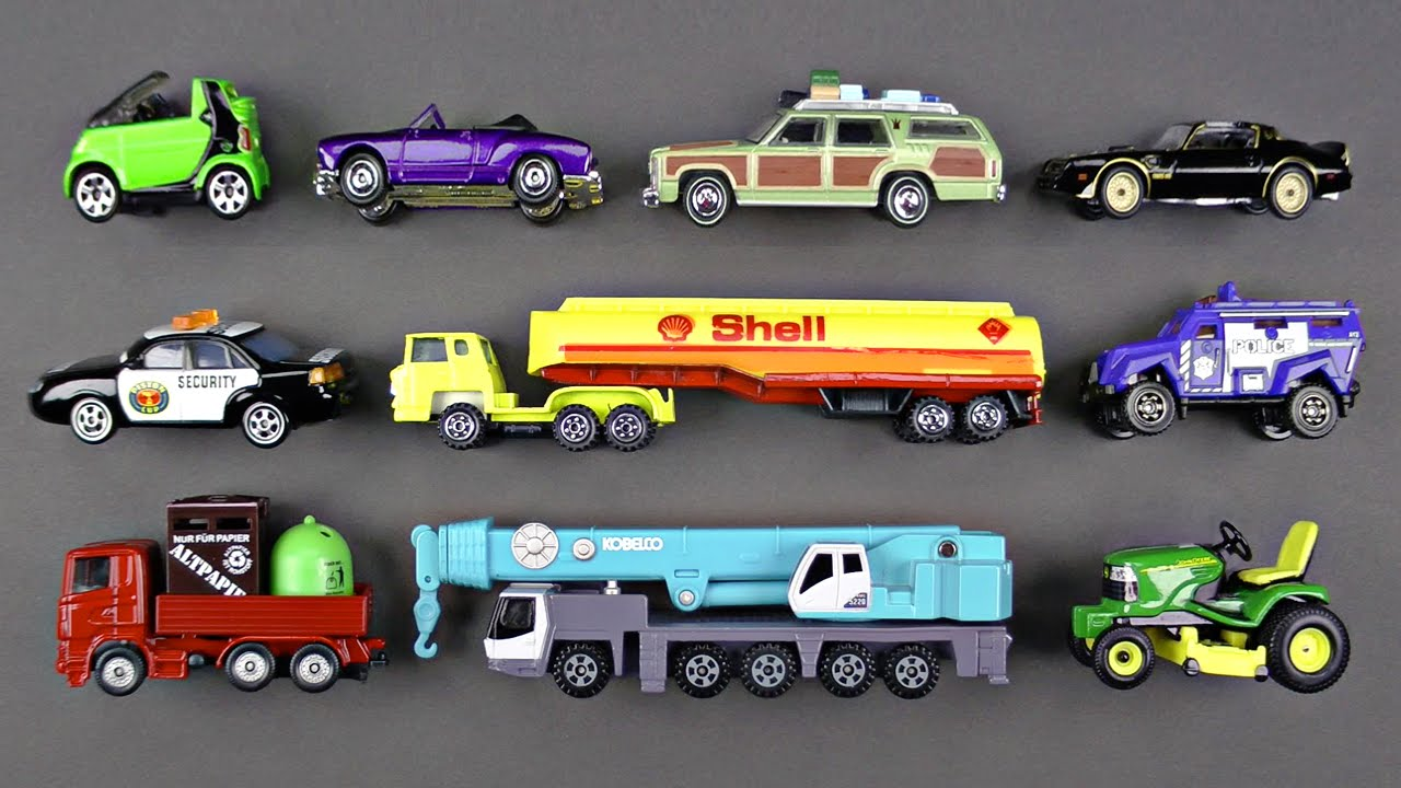 learning street vehicles for kids 5 hot wheels matchbox tomica cars and trucks disney cars