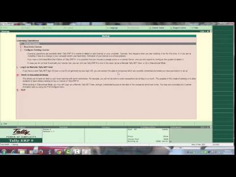 HOW TO INSTALL TALLY ERP 9 WITH CRACK