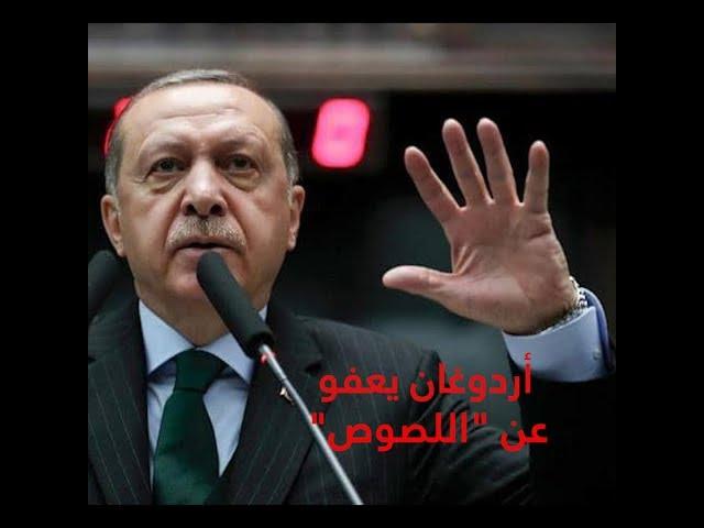 أردوغان يعفو عن اللصوص ويستثني سجناء الرأي