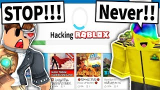 TOFUU IS HACKING ROBLOX... and I have to STOP him!