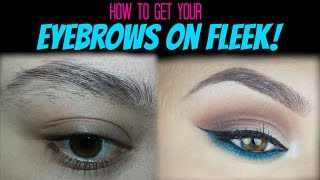 How to Perfectly Groom your own Eyebrows
