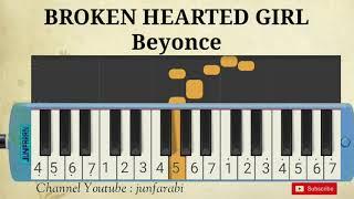 melodika broken hearted girl beyonce instrumental pianika