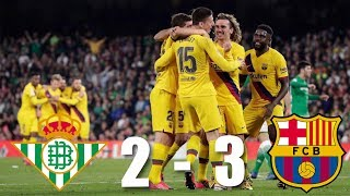 Download the onefootball app here - http://tinyurl.com/tgpx5etclement lenglet scored a dramatic winning goal for barça, who thanks to hat-trick of lionel m...