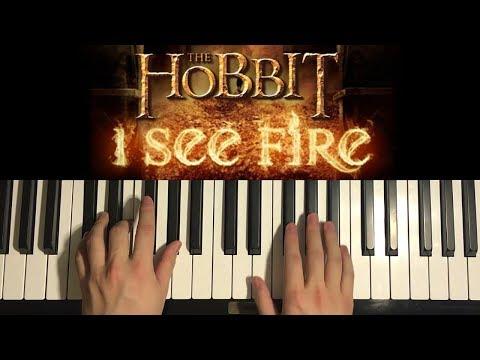 I See Fire - Ed Sheeran (Piano Tutorial Lesson)