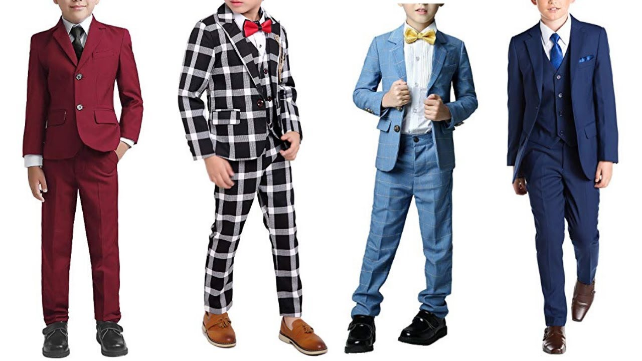 New Stylish coat pant suit for kids/boys Buy online - YouTube