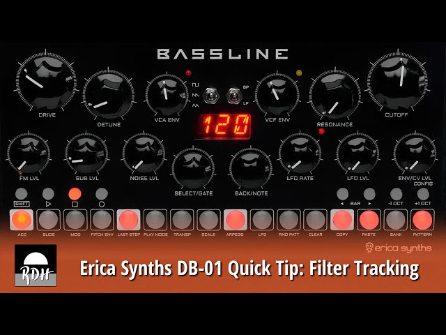 Erica Synths DB-01 Quick Tip: Filter Tracking